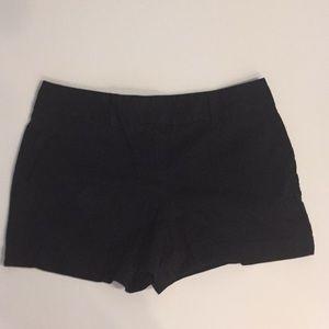 Loft twill black shorts